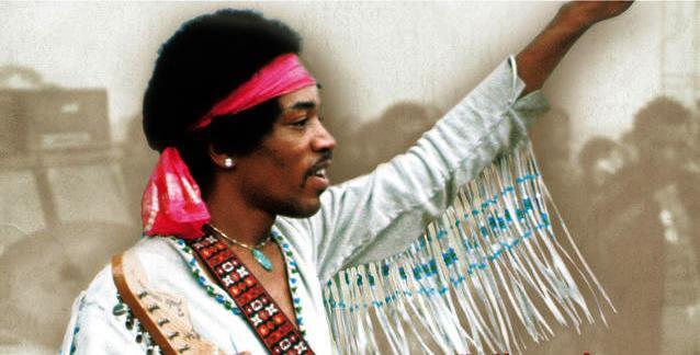 Groovy Jimi Hendrix Woodstock