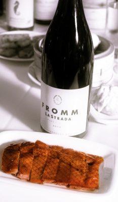 fromm-lastrada-pinotnoir-newzealand-dimsum-winepairing-darrengall-urban-flavours